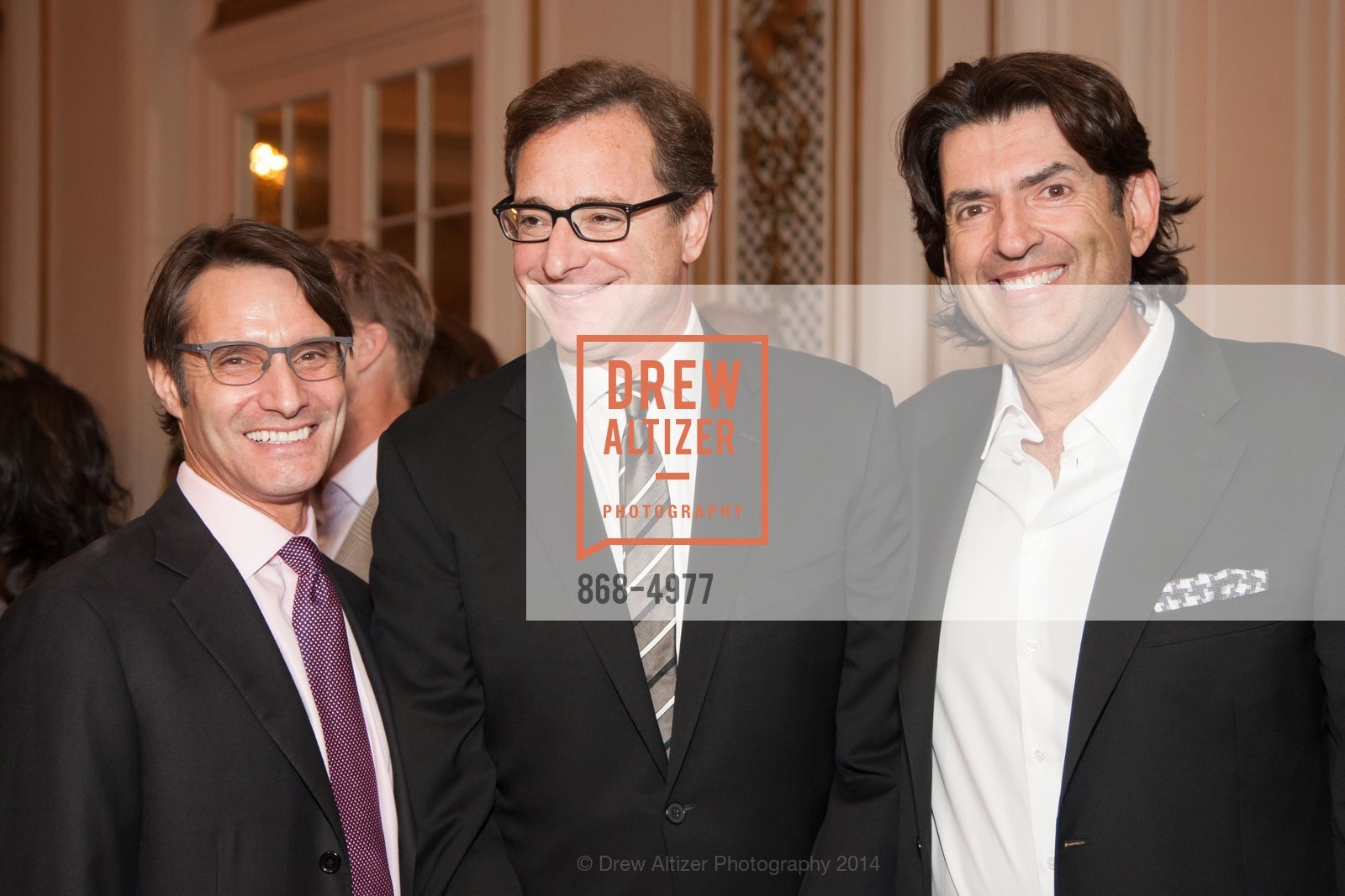 Luke Evnin, Bob Saget, Saville Kellner, Photo #868-4977
