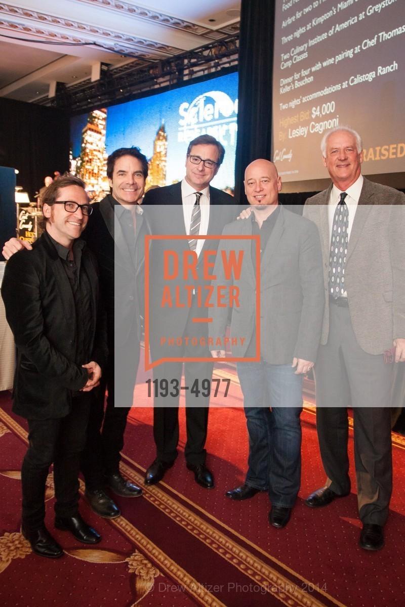 Jerry Becker, Pat Monahan, Bob Saget, Jimmy Stafford, John Blue, Photo #1193-4977