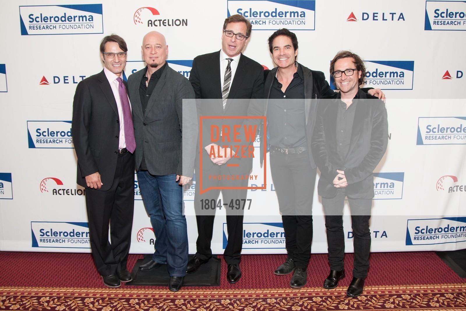 Luke Evnin, Jimmy Stafford, Bob Saget, Pat Monahan, Jerry Becker, Photo #1804-4977