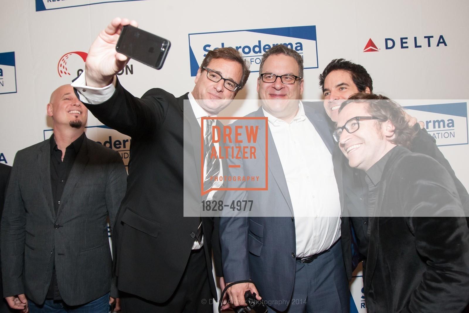 Jimmy Stafford, Bob Saget, Jeff Garlin, Pat Monahan, Jerry Becker, Photo #1828-4977