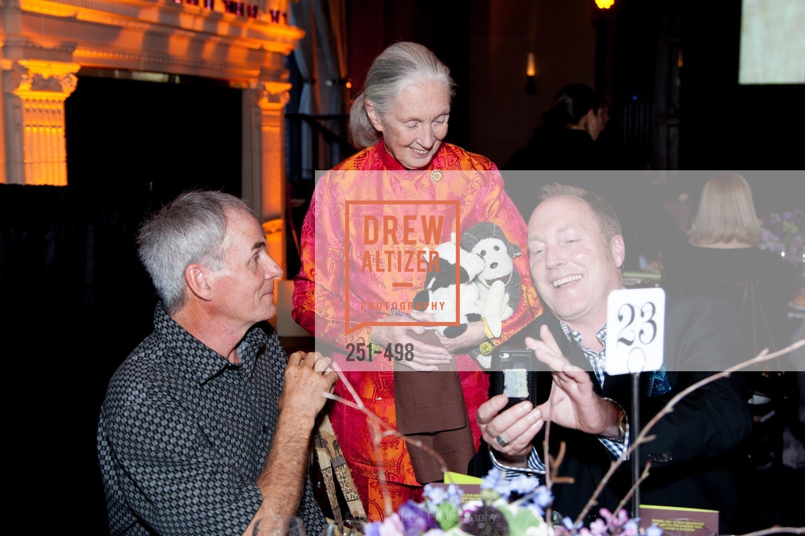 Steven Phillips, Jane Goodall, Dr. Jane Goodall 80th Birthday Celebration, US. US, April 3rd, 2014,Drew Altizer, Drew Altizer Photography, full-service agency, private events, San Francisco photographer, photographer california