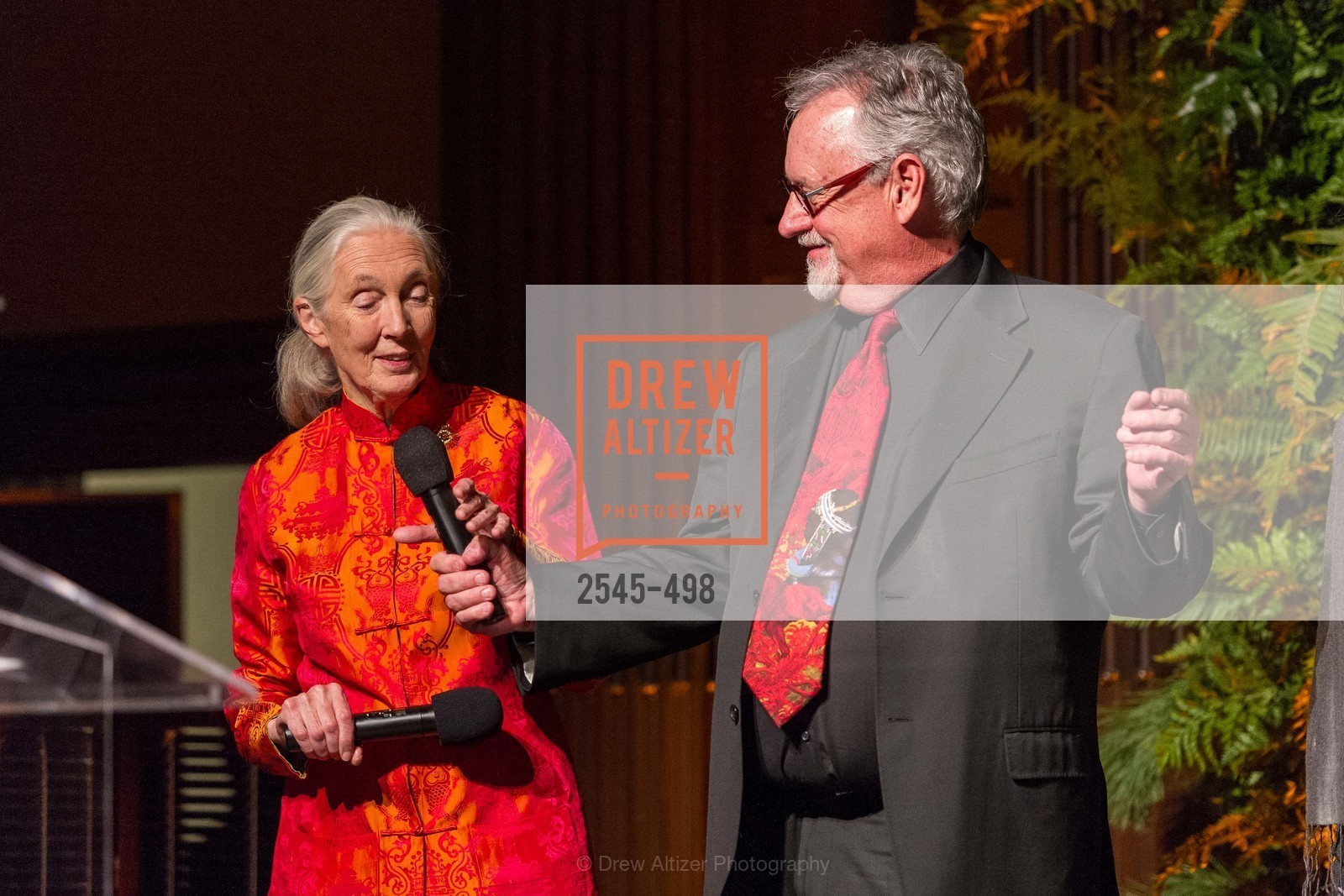 Jane Goodall, Tom Mangelsen, Dr. Jane Goodall 80th Birthday Celebration, US. US, April 3rd, 2014,Drew Altizer, Drew Altizer Photography, full-service agency, private events, San Francisco photographer, photographer california