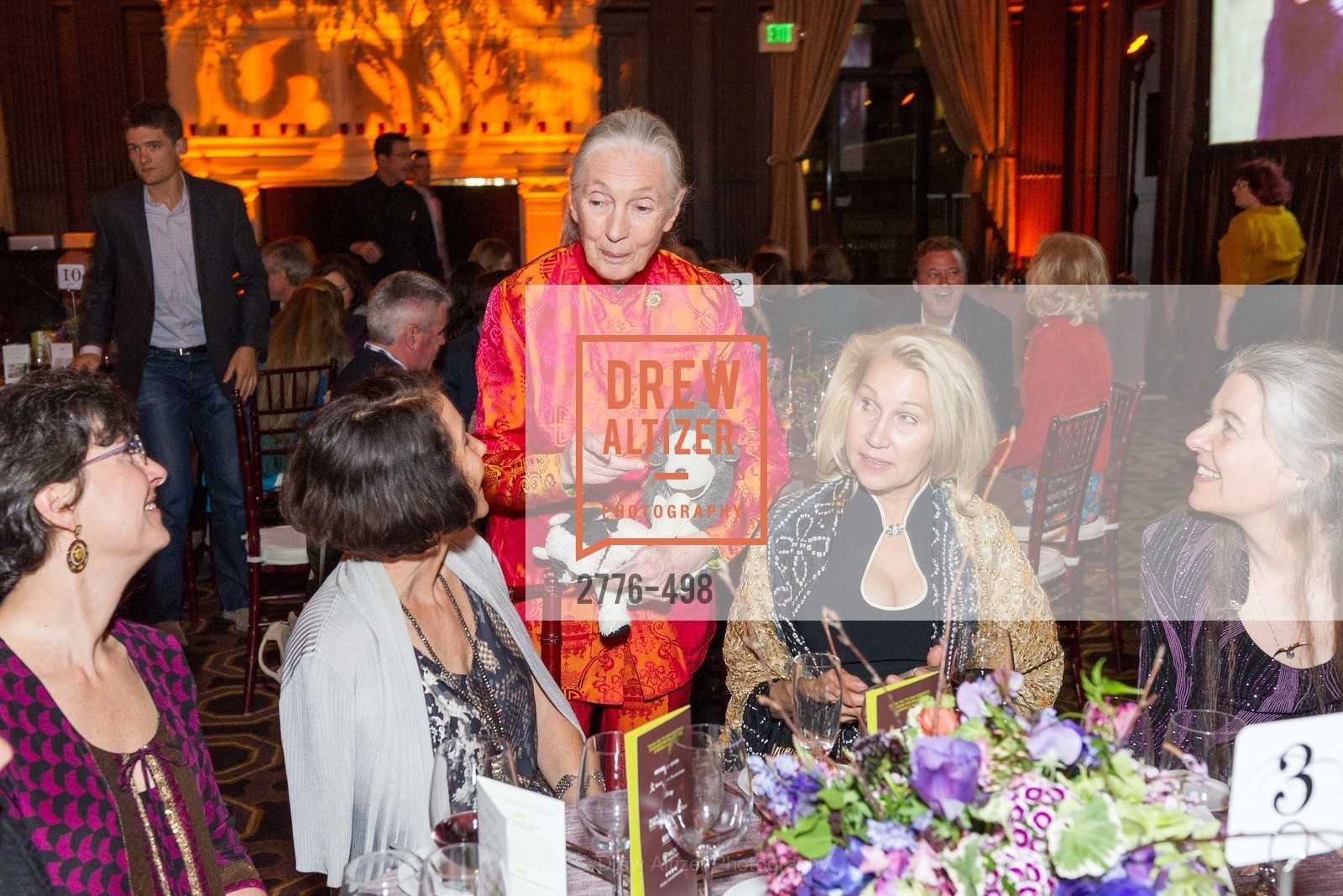 Jane Goodall, Terri Ducay, Dr. Jane Goodall 80th Birthday Celebration, US. US, April 3rd, 2014,Drew Altizer, Drew Altizer Photography, full-service event agency, private events, San Francisco photographer, photographer California