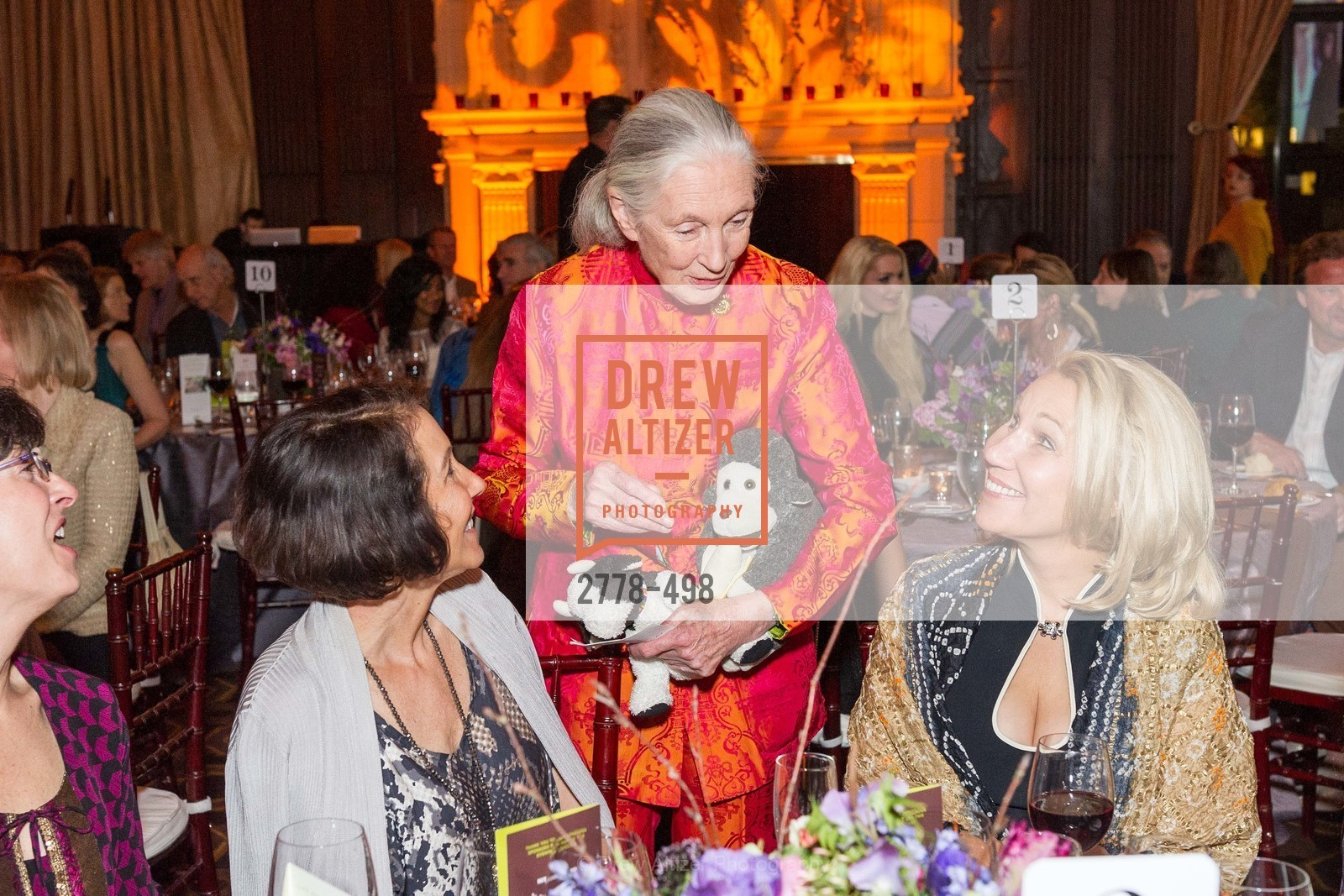 Jane Goodall, Terri Ducay, Dr. Jane Goodall 80th Birthday Celebration, US. US, April 3rd, 2014,Drew Altizer, Drew Altizer Photography, full-service agency, private events, San Francisco photographer, photographer california
