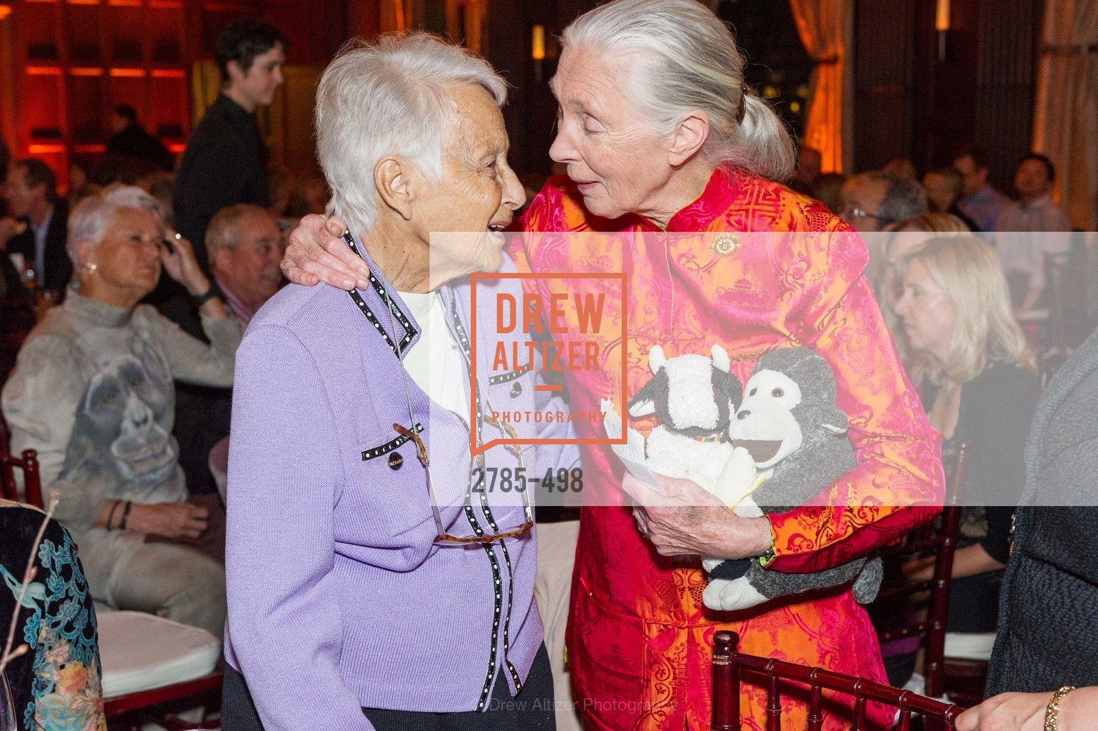 Lilo Leeds, Jane Goodall, Dr. Jane Goodall 80th Birthday Celebration, US. US, April 3rd, 2014,Drew Altizer, Drew Altizer Photography, full-service event agency, private events, San Francisco photographer, photographer California