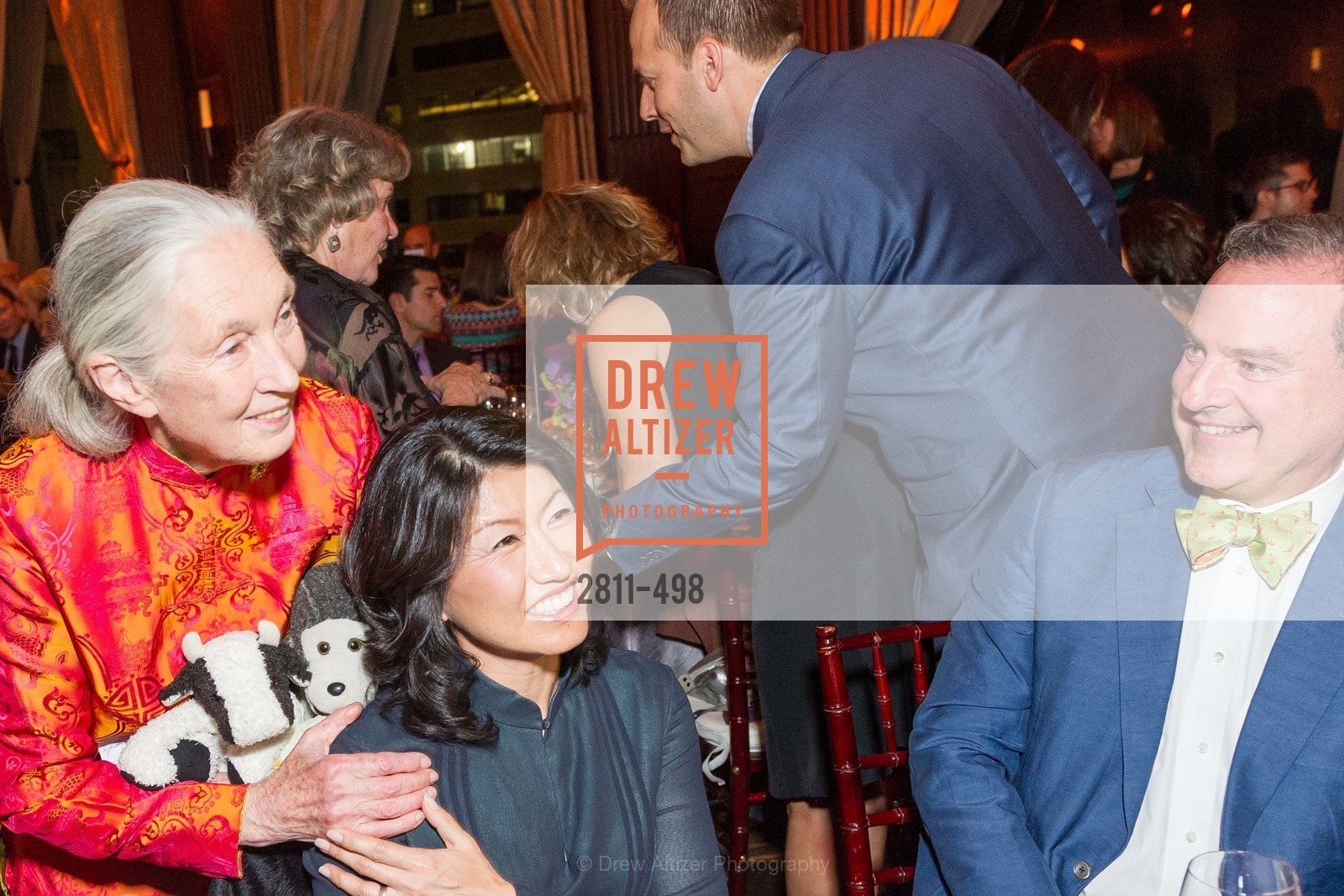 Jane Goodall, Akiko Yamazaki, Dr. Jane Goodall 80th Birthday Celebration, US. US, April 3rd, 2014,Drew Altizer, Drew Altizer Photography, full-service agency, private events, San Francisco photographer, photographer california