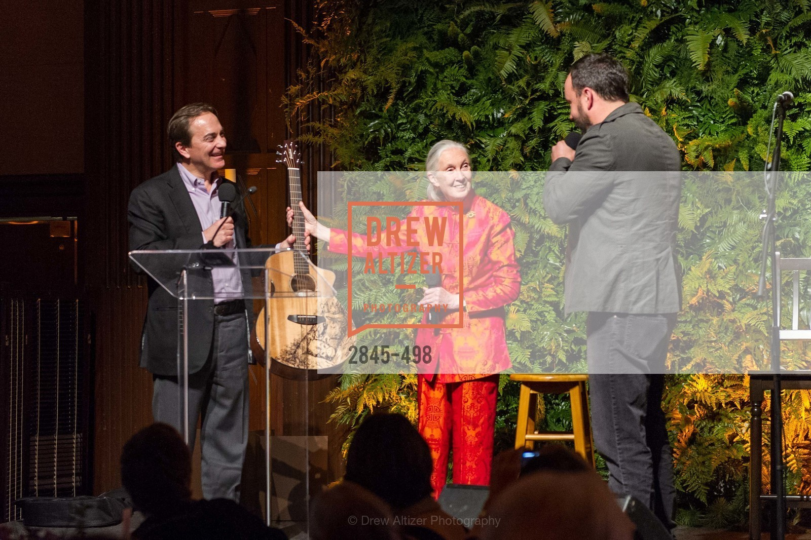 Charlie Knowles, Jane Goodall, Dave Matthews, Dr. Jane Goodall 80th Birthday Celebration, US. US, April 3rd, 2014,Drew Altizer, Drew Altizer Photography, full-service event agency, private events, San Francisco photographer, photographer California
