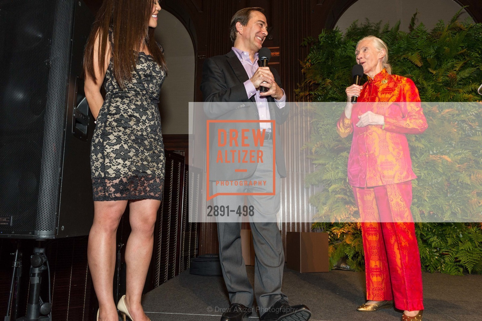 Charlie Knowles, Jane Goodall, Dr. Jane Goodall 80th Birthday Celebration, US. US, April 3rd, 2014,Drew Altizer, Drew Altizer Photography, full-service agency, private events, San Francisco photographer, photographer california