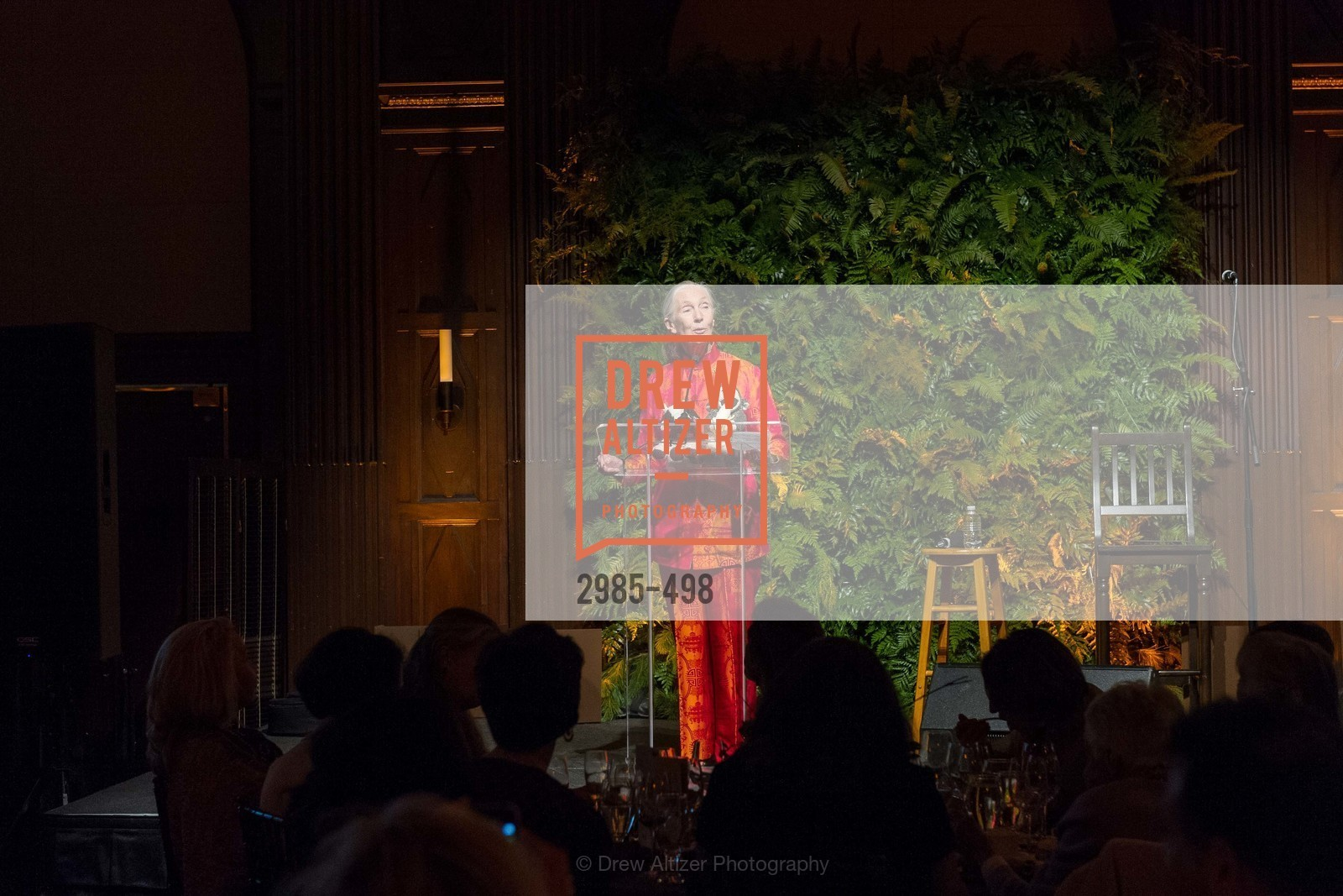 Jane Goodall, Dr. Jane Goodall 80th Birthday Celebration, US. US, April 3rd, 2014,Drew Altizer, Drew Altizer Photography, full-service agency, private events, San Francisco photographer, photographer california