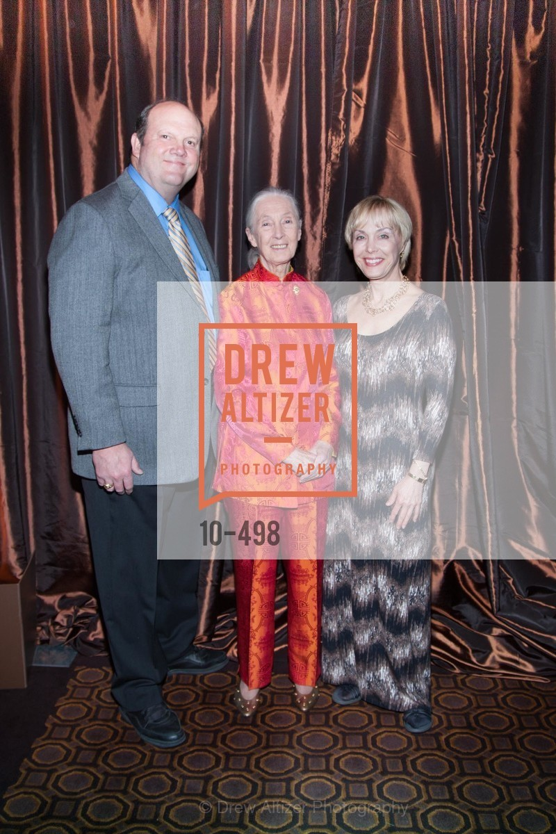 Mark Crowe, Jane Goodall, Becci Crowe, Dr. Jane Goodall 80th Birthday Celebration, US. US, April 3rd, 2014,Drew Altizer, Drew Altizer Photography, full-service agency, private events, San Francisco photographer, photographer california