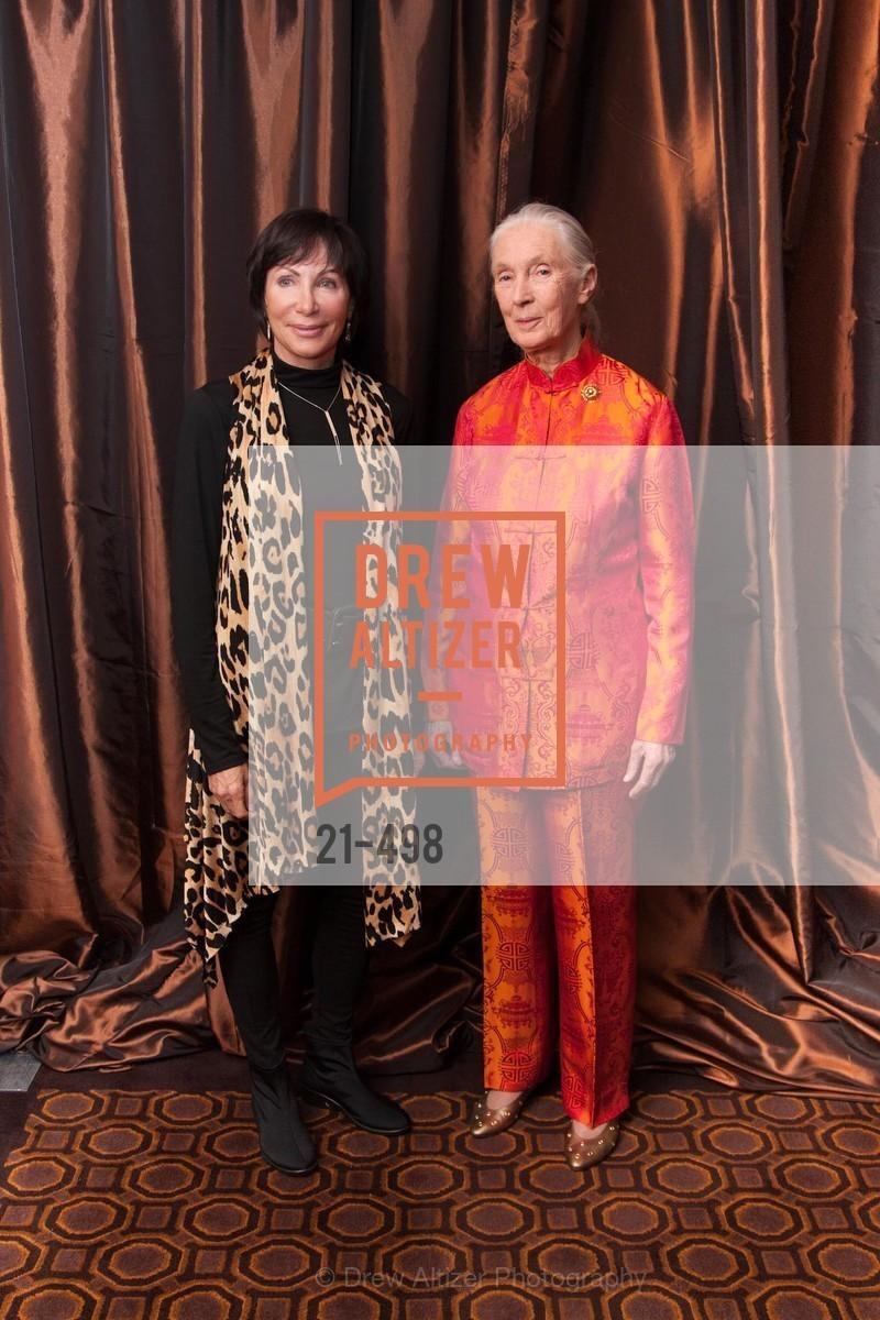 Jan Richardson, Jane Goodall, Dr. Jane Goodall 80th Birthday Celebration, US. US, April 3rd, 2014,Drew Altizer, Drew Altizer Photography, full-service agency, private events, San Francisco photographer, photographer california