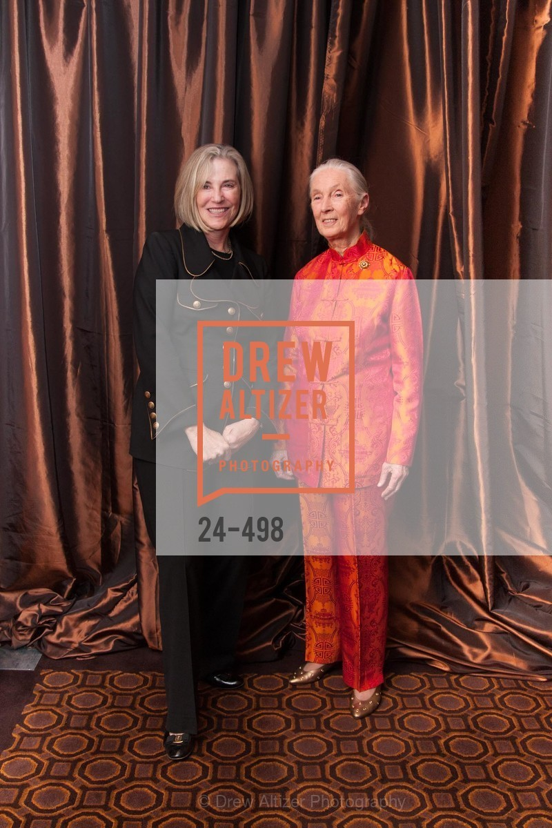 Kathleen Sullivan, Jane Goodall, Dr. Jane Goodall 80th Birthday Celebration, US. US, April 3rd, 2014,Drew Altizer, Drew Altizer Photography, full-service agency, private events, San Francisco photographer, photographer california