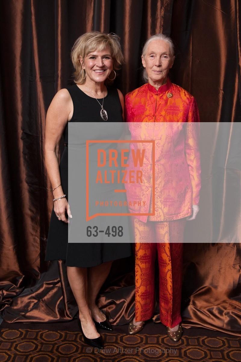 Donna Gadomski, Jane Goodall, Dr. Jane Goodall 80th Birthday Celebration, US. US, April 3rd, 2014,Drew Altizer, Drew Altizer Photography, full-service agency, private events, San Francisco photographer, photographer california