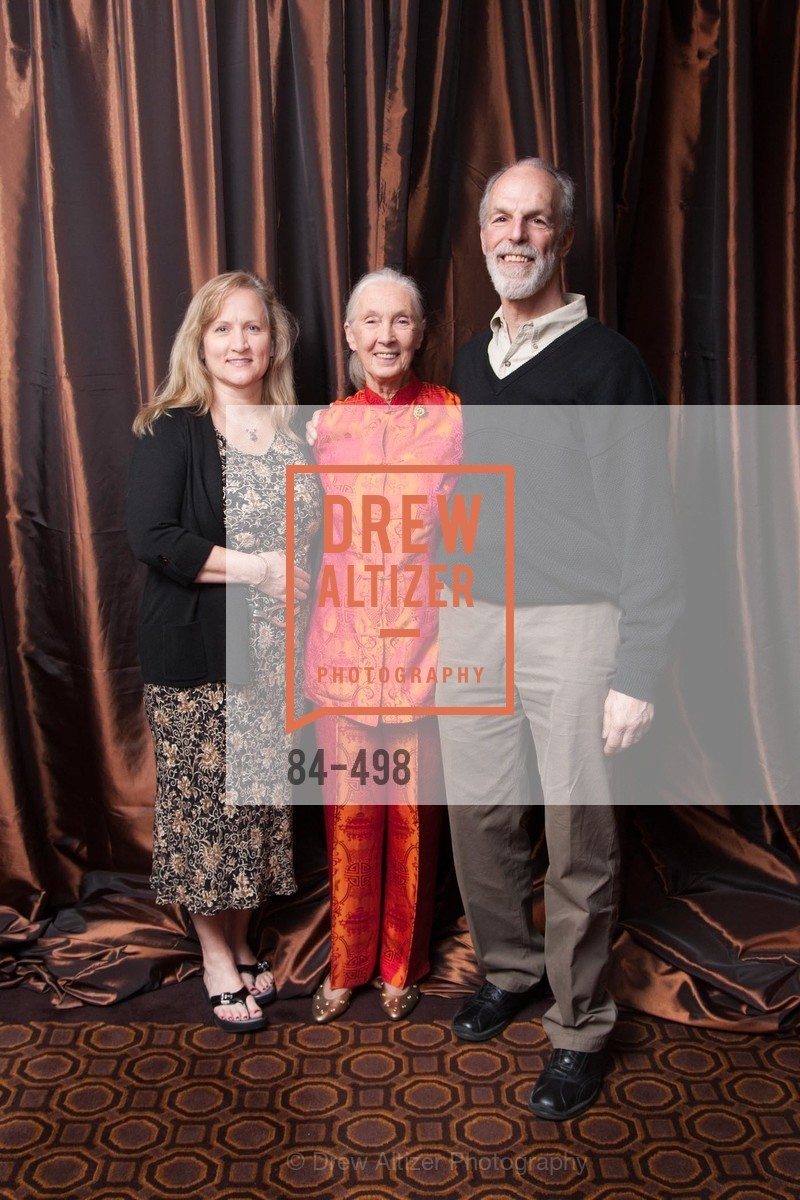 Kellen Klein, Jane Goodall, Hank Klein, Dr. Jane Goodall 80th Birthday Celebration, US. US, April 3rd, 2014,Drew Altizer, Drew Altizer Photography, full-service agency, private events, San Francisco photographer, photographer california