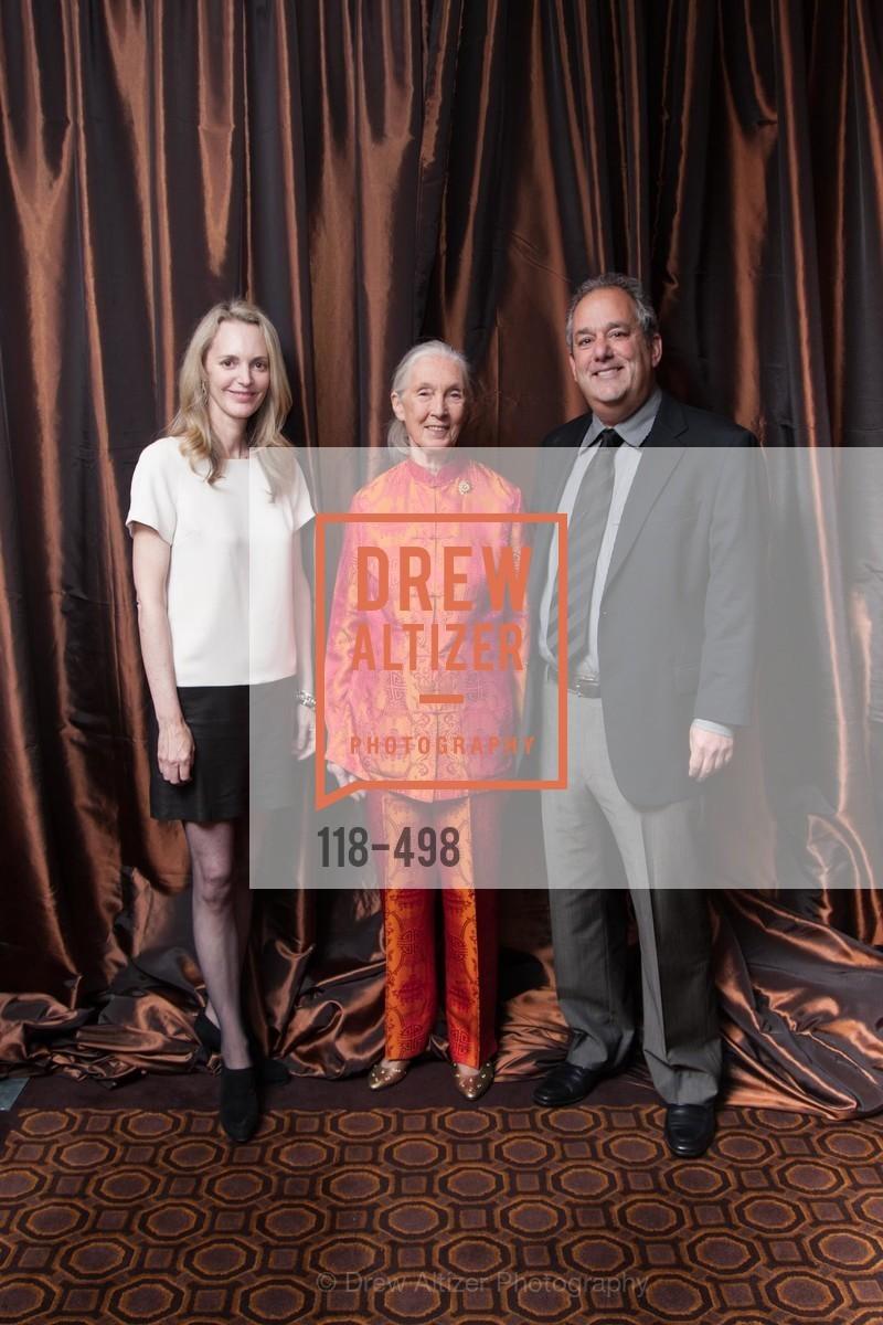 Marty Dixon, Jane Goodall, David Berger, Photo #118-498