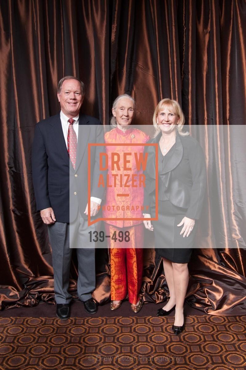 Wes Clelland, Jane Goodall, Julie Clelland, Photo #139-498
