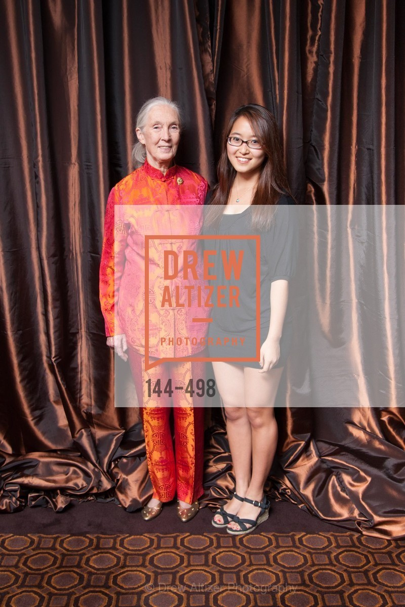 Jane Goodall, Angelina Hwang, Dr. Jane Goodall 80th Birthday Celebration, US. US, April 3rd, 2014,Drew Altizer, Drew Altizer Photography, full-service agency, private events, San Francisco photographer, photographer california