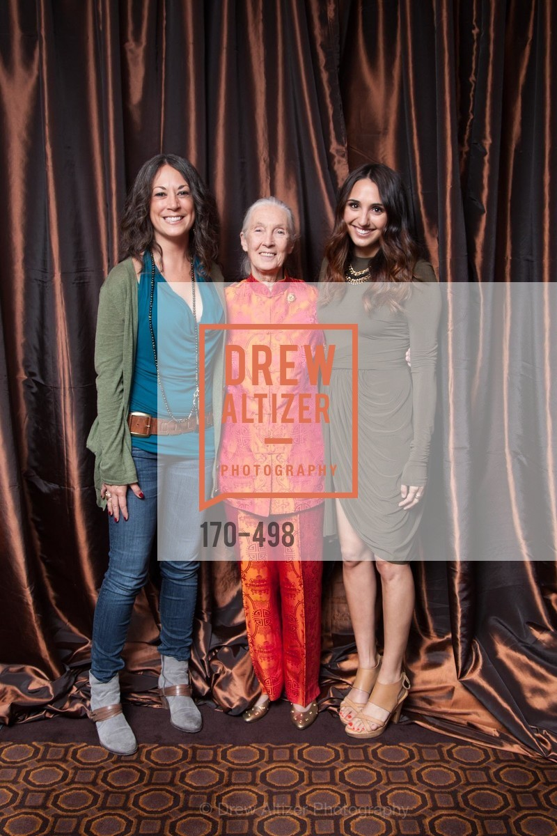 Sylvia Flores, Jane Goodall, Mich Wells, Dr. Jane Goodall 80th Birthday Celebration, US. US, April 3rd, 2014,Drew Altizer, Drew Altizer Photography, full-service event agency, private events, San Francisco photographer, photographer California