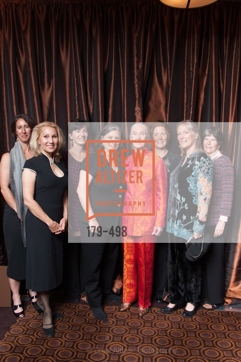 Anne Kletch, Terri Ducay, Jennifer Leeds, Jane Goodall, Vicky Leeds, Dr. Jane Goodall 80th Birthday Celebration, US. US, April 3rd, 2014,Drew Altizer, Drew Altizer Photography, full-service agency, private events, San Francisco photographer, photographer california