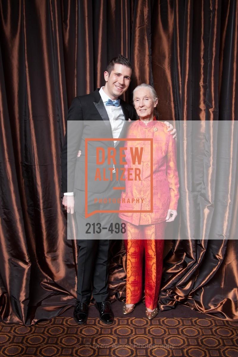 John Trybus, Jane Goodall, Dr. Jane Goodall 80th Birthday Celebration, US. US, April 3rd, 2014,Drew Altizer, Drew Altizer Photography, full-service agency, private events, San Francisco photographer, photographer california