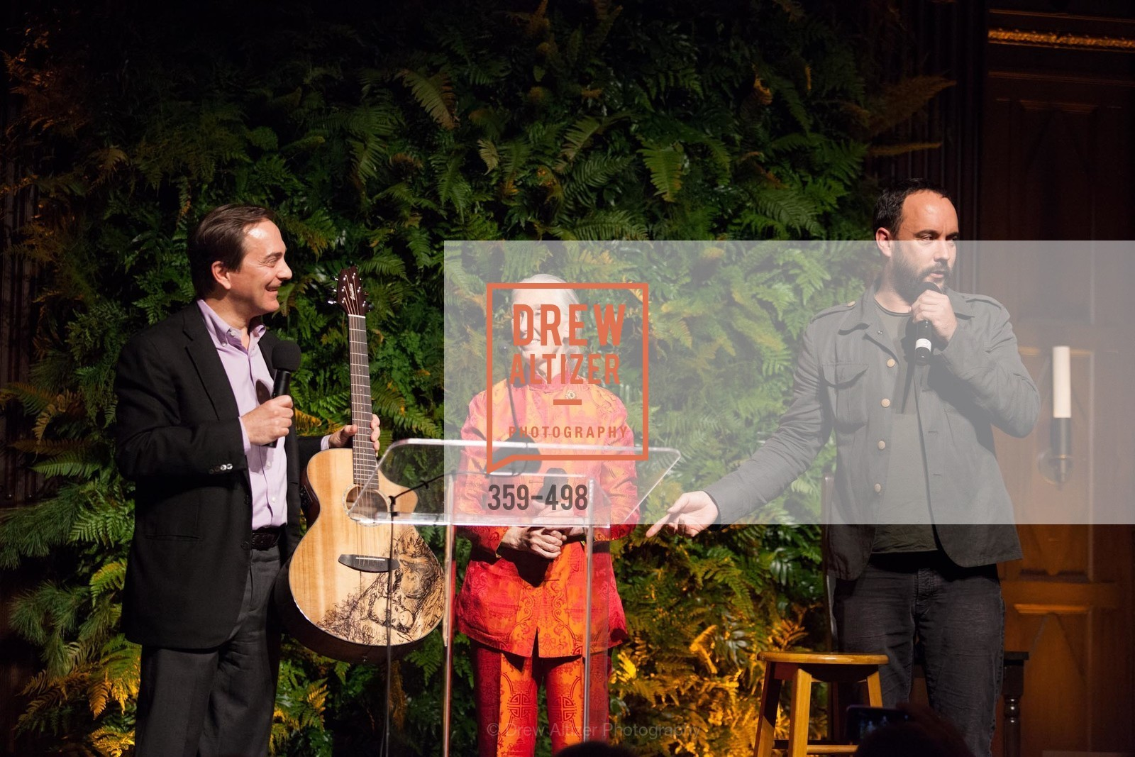 Charlie Knowles, Jane Goodall, Dave Matthews, Dr. Jane Goodall 80th Birthday Celebration, US. US, April 3rd, 2014