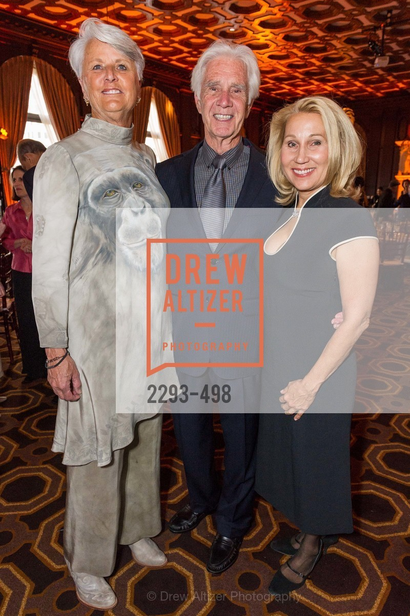 Judy Wheatley, Chuck Wheatley, Terri Ducay, Dr. Jane Goodall 80th Birthday Celebration, US. US, April 3rd, 2014,Drew Altizer, Drew Altizer Photography, full-service event agency, private events, San Francisco photographer, photographer California