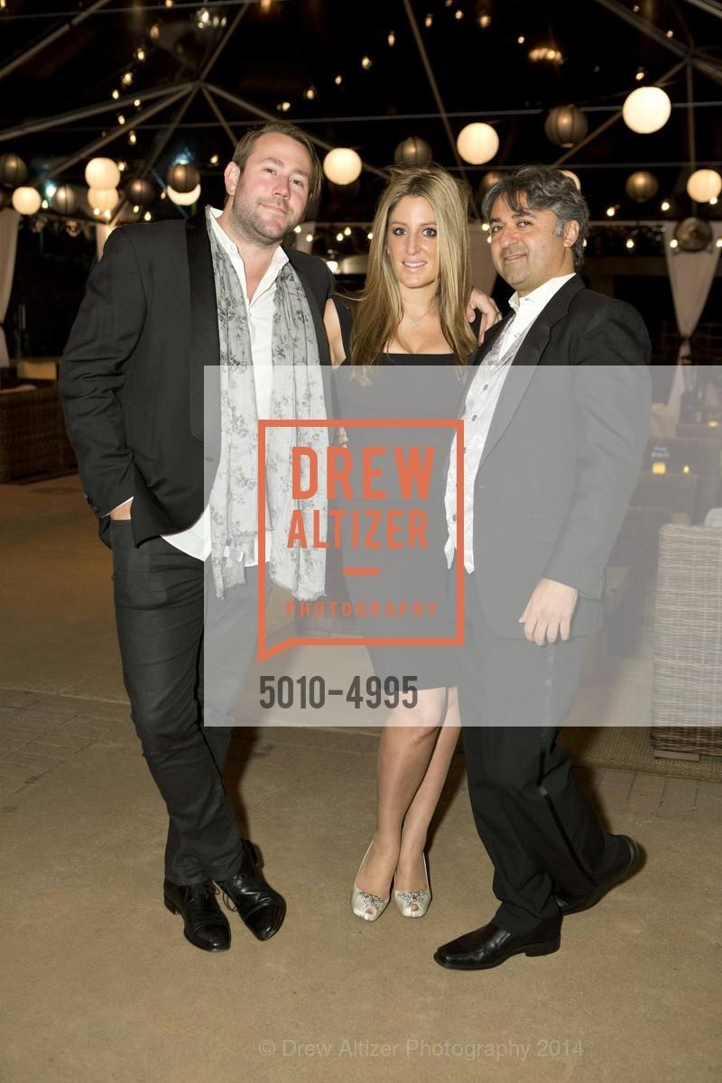 Clint Miller, Hooman Khalili, Parisa O'Connell, Photo #5010-4995
