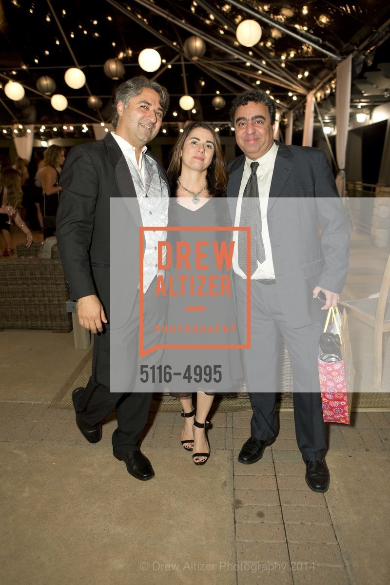Hooman Khalili, Rania Nehchiri, Roorish Nehchiri, Photo #5116-4995