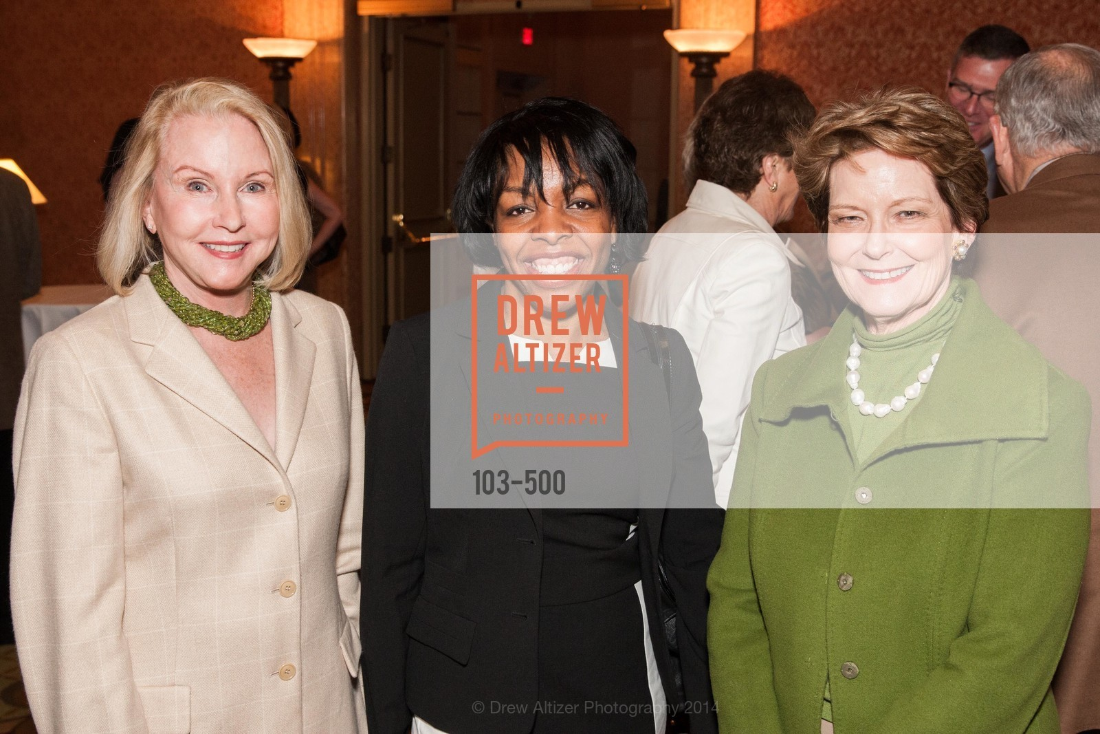 Nan McDowell, Lillian Samuel, Cathy Comden, Compassion & Choices Luncheon, US. US, April 4th, 2014,Drew Altizer, Drew Altizer Photography, full-service agency, private events, San Francisco photographer, photographer california