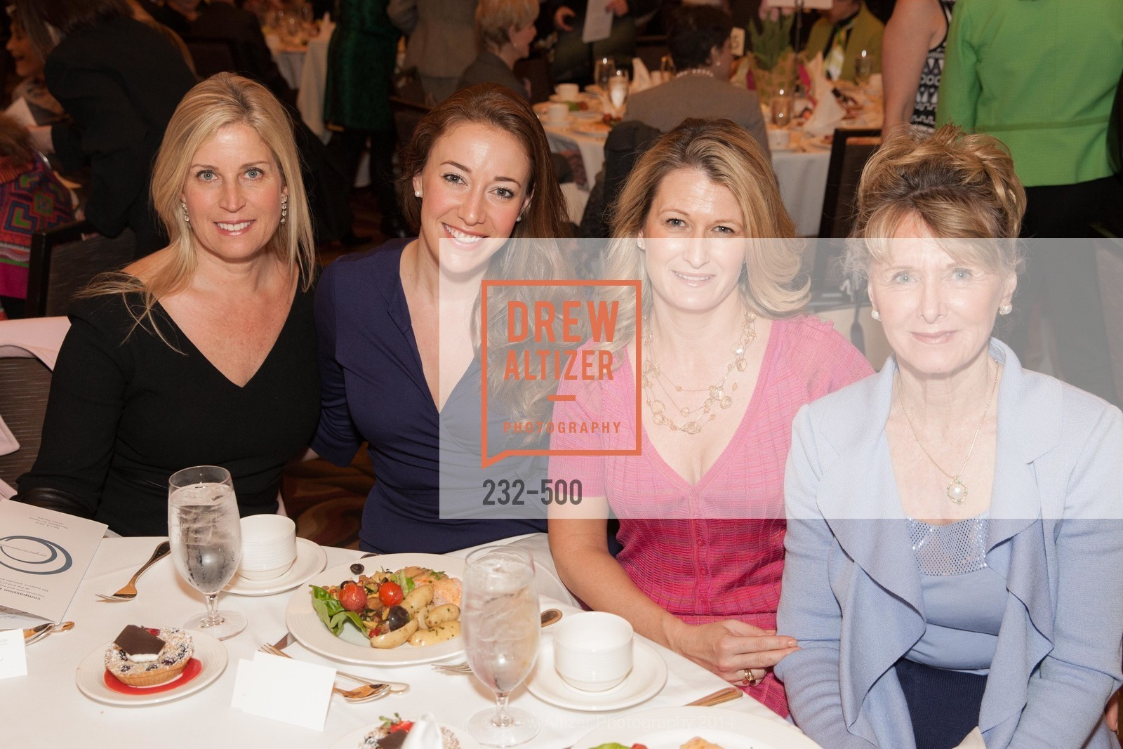 Jane Inch, Schuyler Hudak, Nicole Bonar, Virginia Bonar, Compassion & Choices Luncheon, US. US, April 4th, 2014,Drew Altizer, Drew Altizer Photography, full-service agency, private events, San Francisco photographer, photographer california