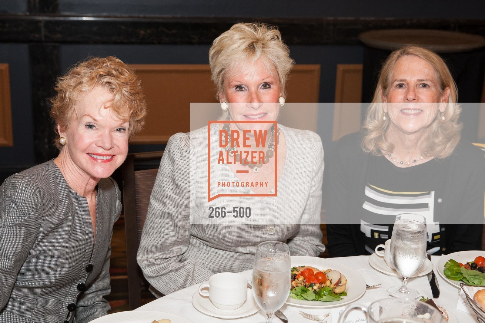 Lynn Lubbock, Carolyn Hansen, Betsy Coover, Compassion & Choices Luncheon, US. US, April 4th, 2014,Drew Altizer, Drew Altizer Photography, full-service agency, private events, San Francisco photographer, photographer california