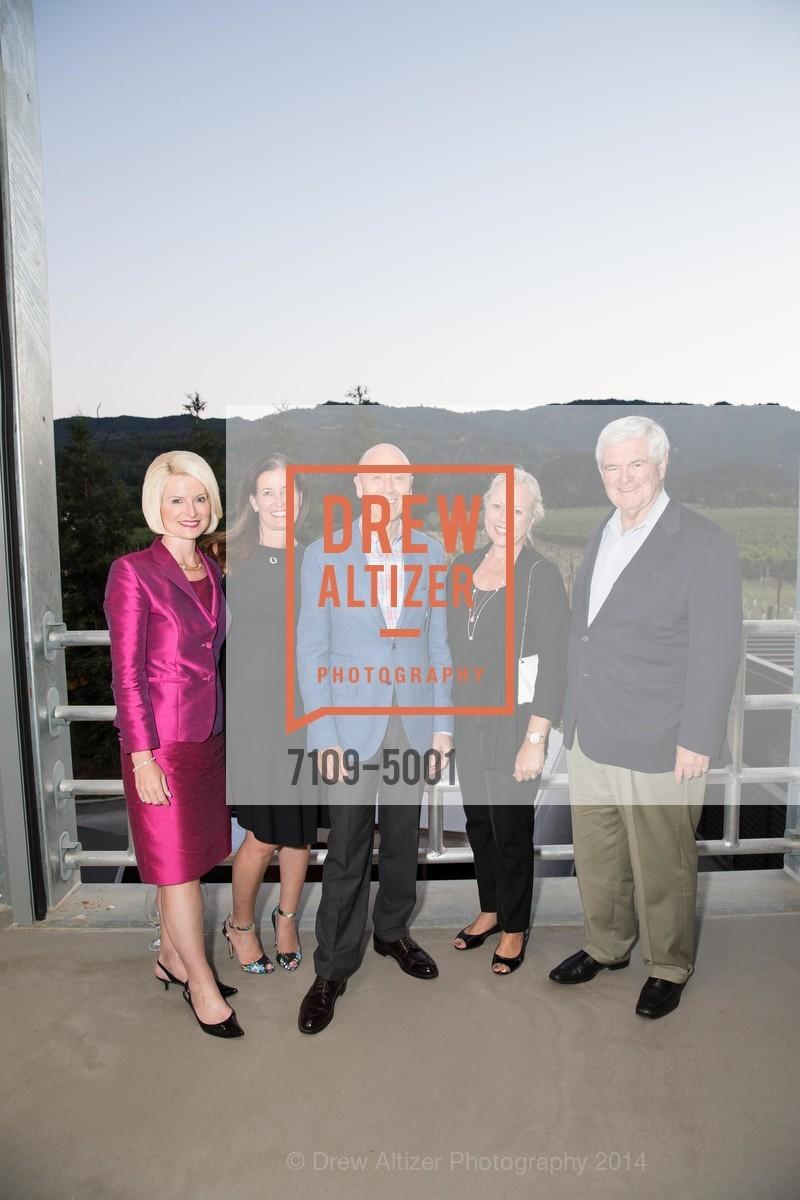 Callista Gingrich, Diane Girard, Melvyn Kirtley, Beth Canvan, Newt Gingrich, Photo #7109-5001