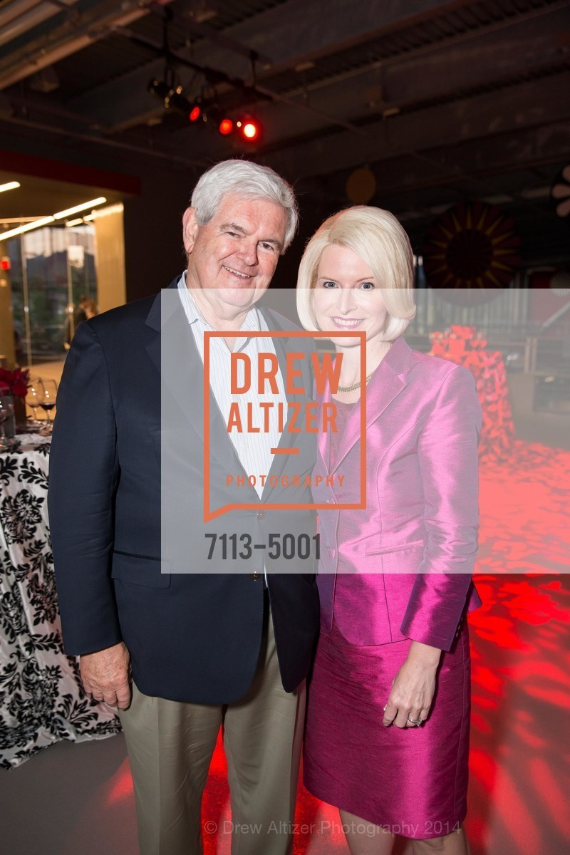 Newt Gingrich, Callista Gingrich, Photo #7113-5001