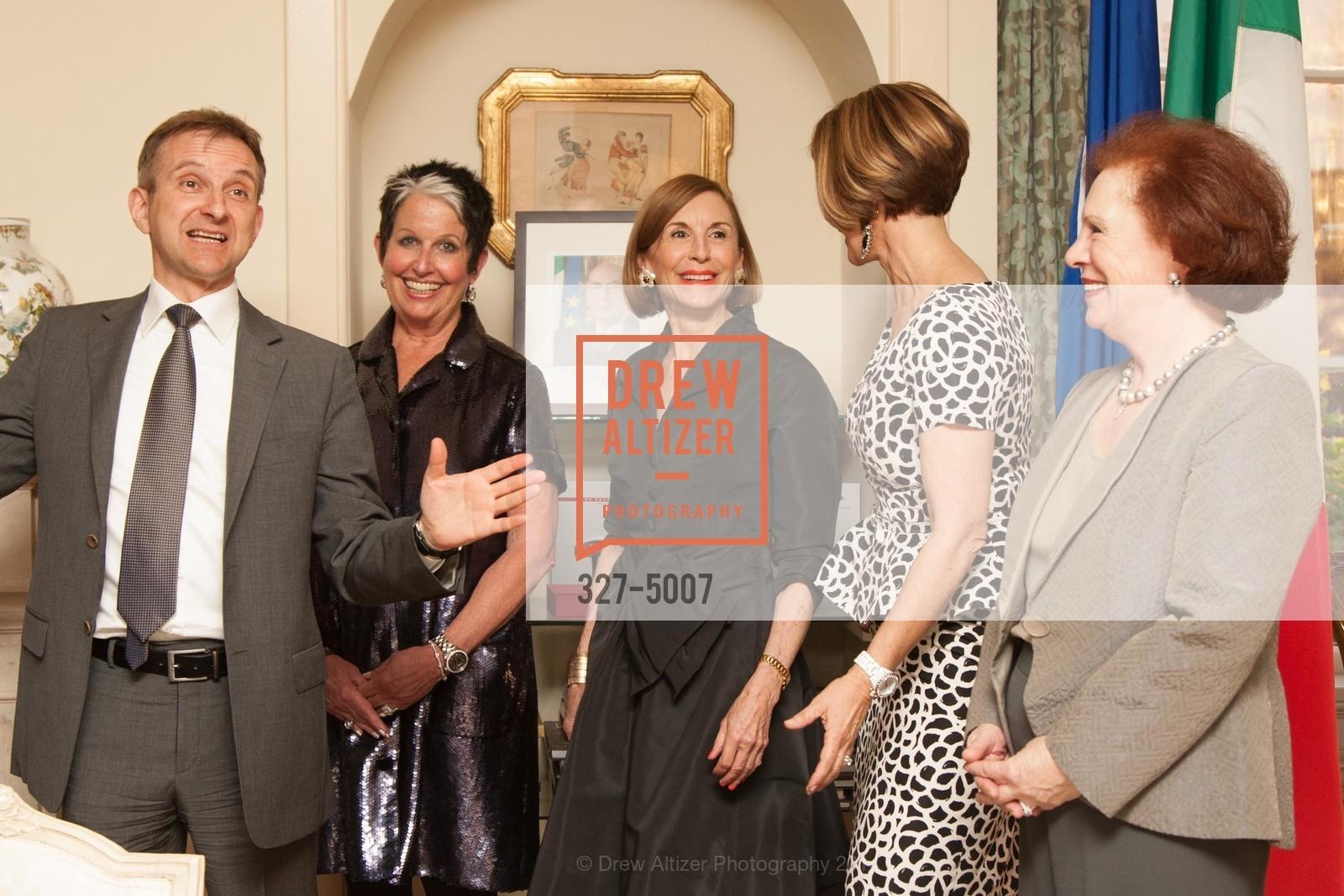 Mauro Battocchi, Karen Kubin, Marsha Monro, Katie Jarman, Romana Bracco, Photo #327-5007