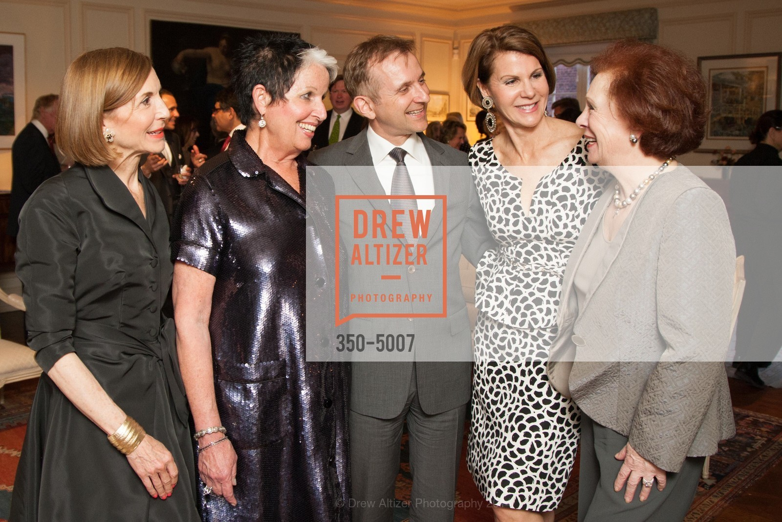 Marsha Monro, Karen Kubin, Mauro Battocchi, Katie Jarman, Romana Bracco, Photo #350-5007