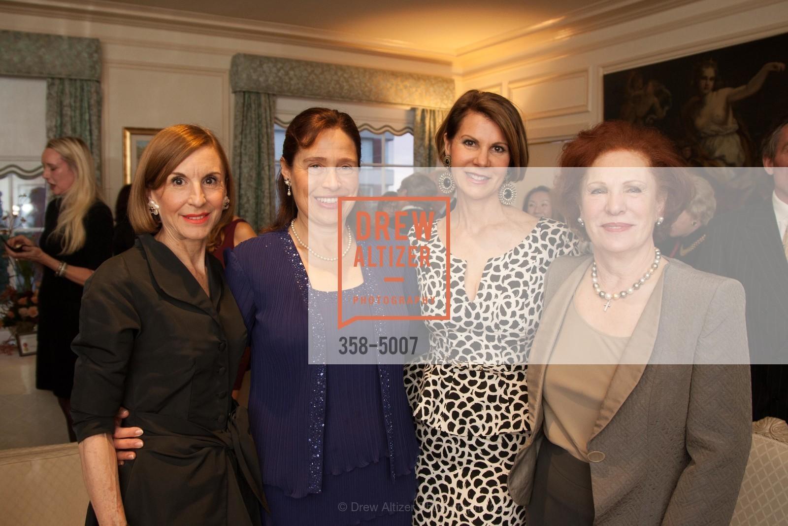 Marsha Monro, Marilyn Levinson, Katie Jarman, Romana Bracco, Photo #358-5007
