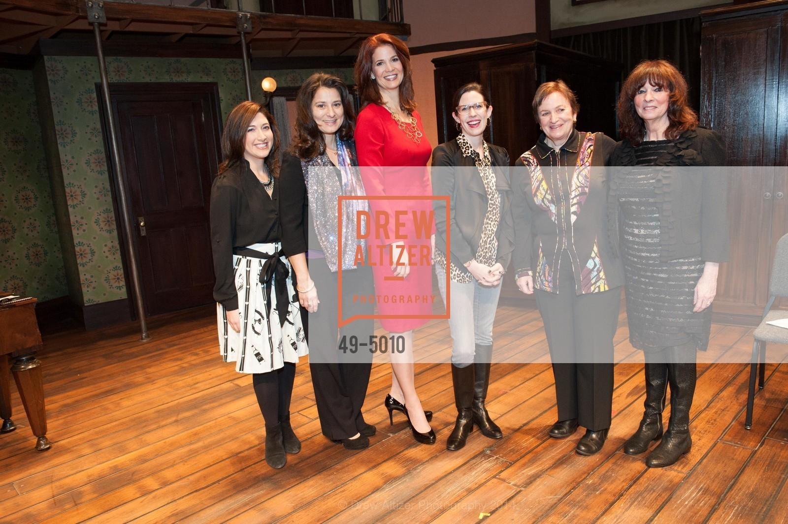 Randi Zuckerberg, Natalie Batalha, Jenny Dearborn, Lauren Gunderson, Ann Bowers, Jodye Friedman, Photo #49-5010