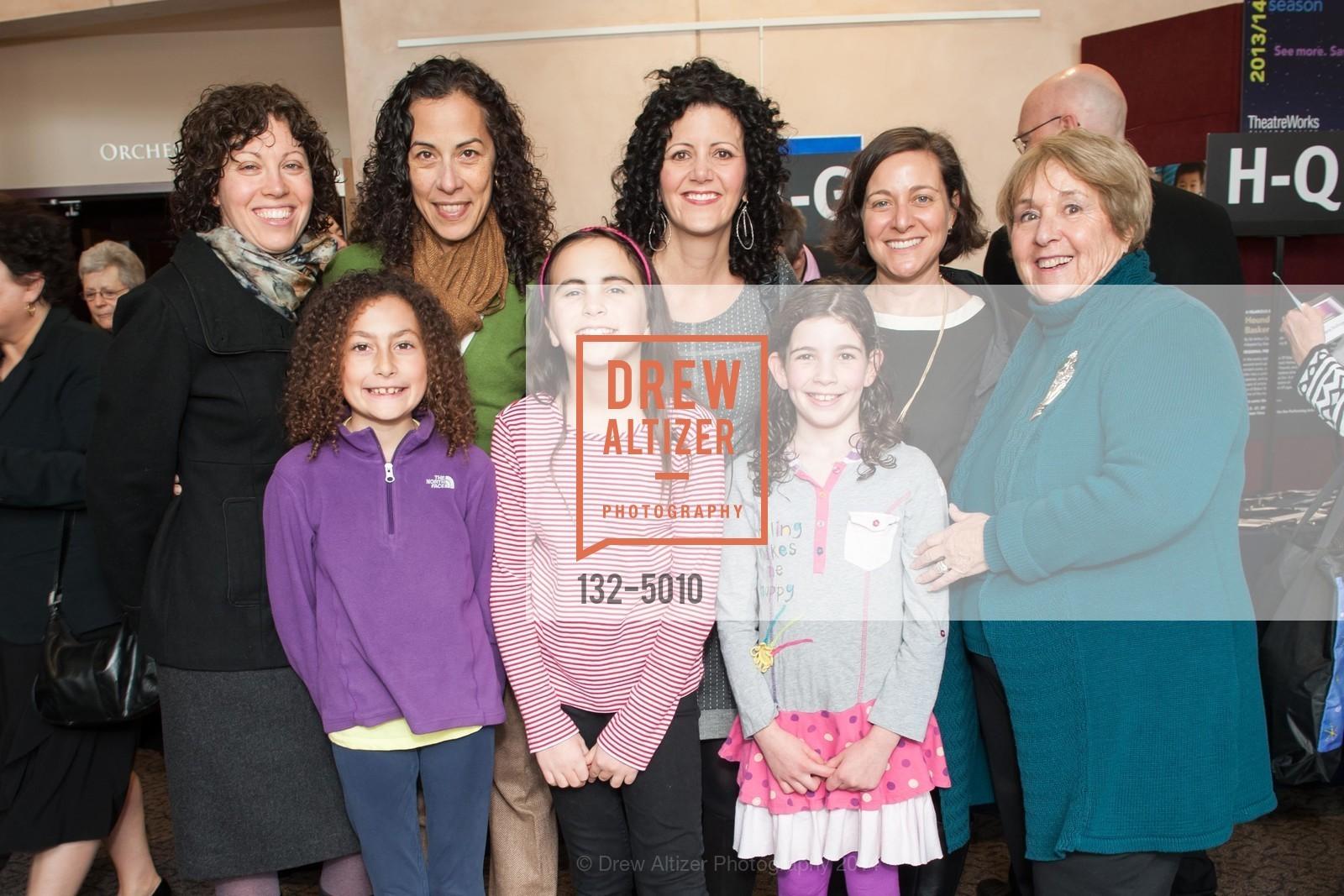 Tzitor Ulman, Madeleine Hale, Rachel Berman, Lauren Berman, Riki Alcheck, Randi Britt, Photo #132-5010