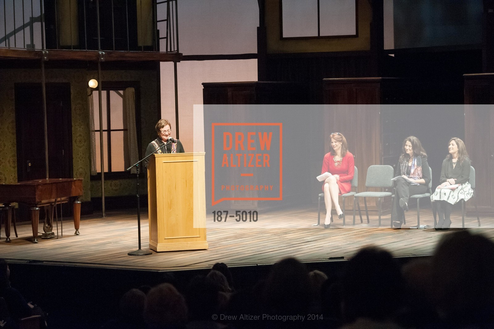 Ann Bowers, Jenny Dearborn, Natalie Batalha, Randi Zuckerberg, Photo #187-5010