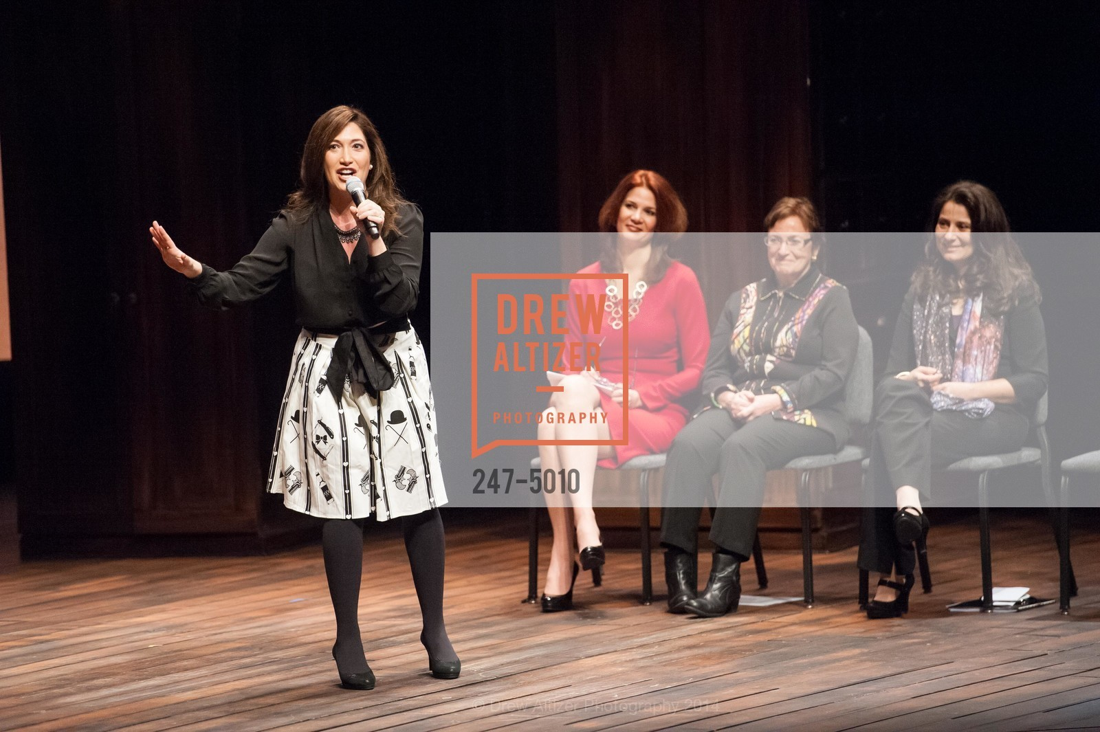 Randi Zuckerberg, Jenny Dearborn, Ann Bowers, Natalie Batalha, Photo #247-5010