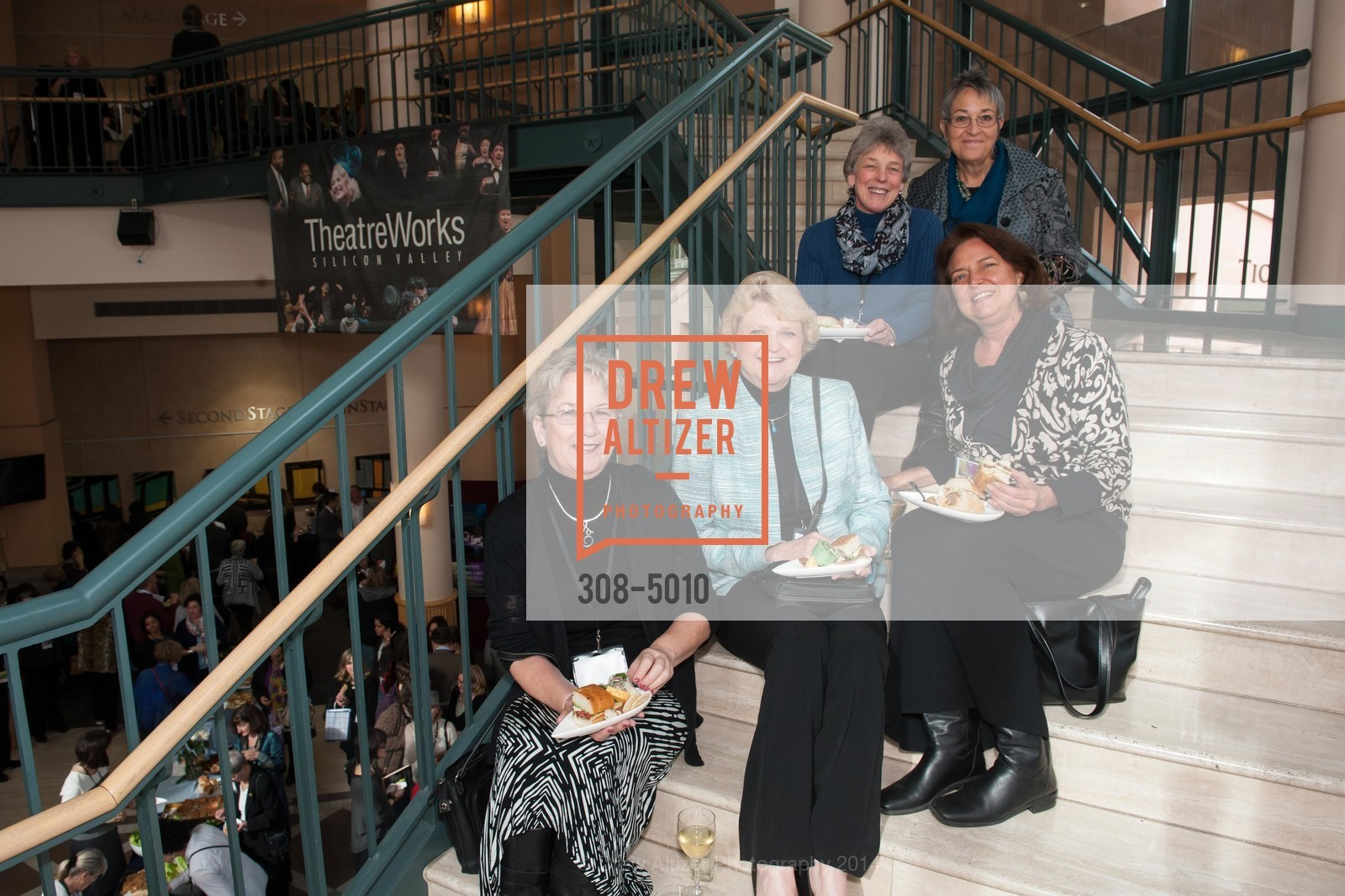 Judy Blood, Jeannie Bruins, Linda Stevenin, Pat James, Lisa Webster, Photo #308-5010