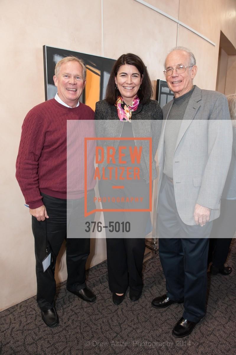 Chris Thomsen, Katie Ferrick, Don Kennedy, Photo #376-5010
