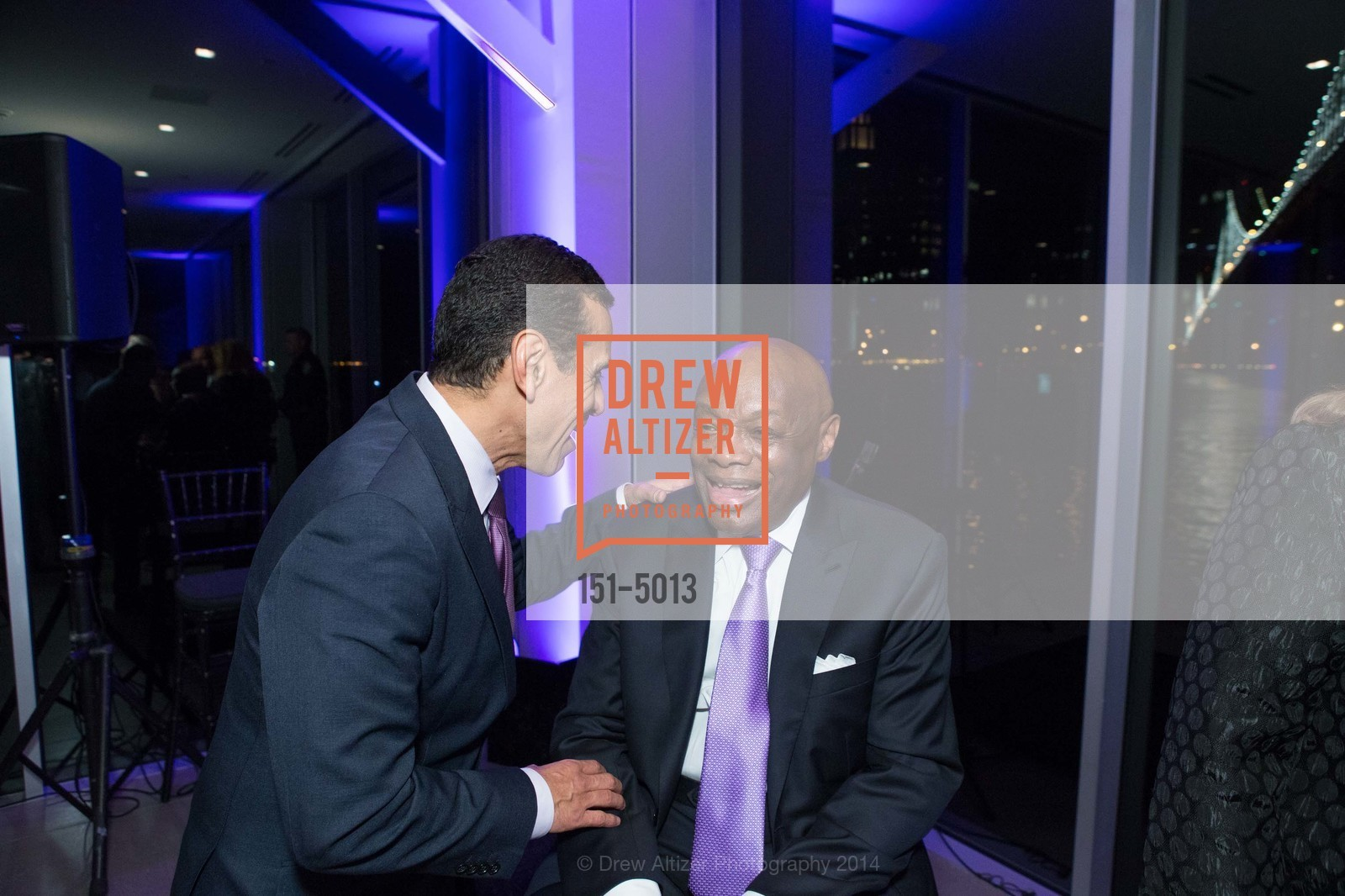 Antonio Villaraigosa, Willie Brown, Photo #151-5013