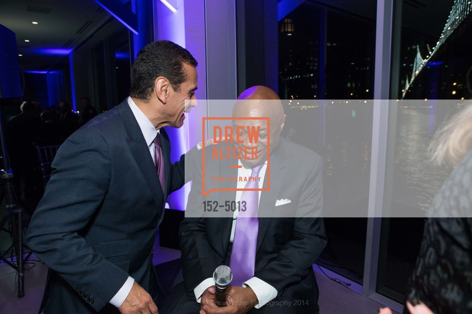 Antonio Villaraigosa, Willie Brown, Photo #152-5013