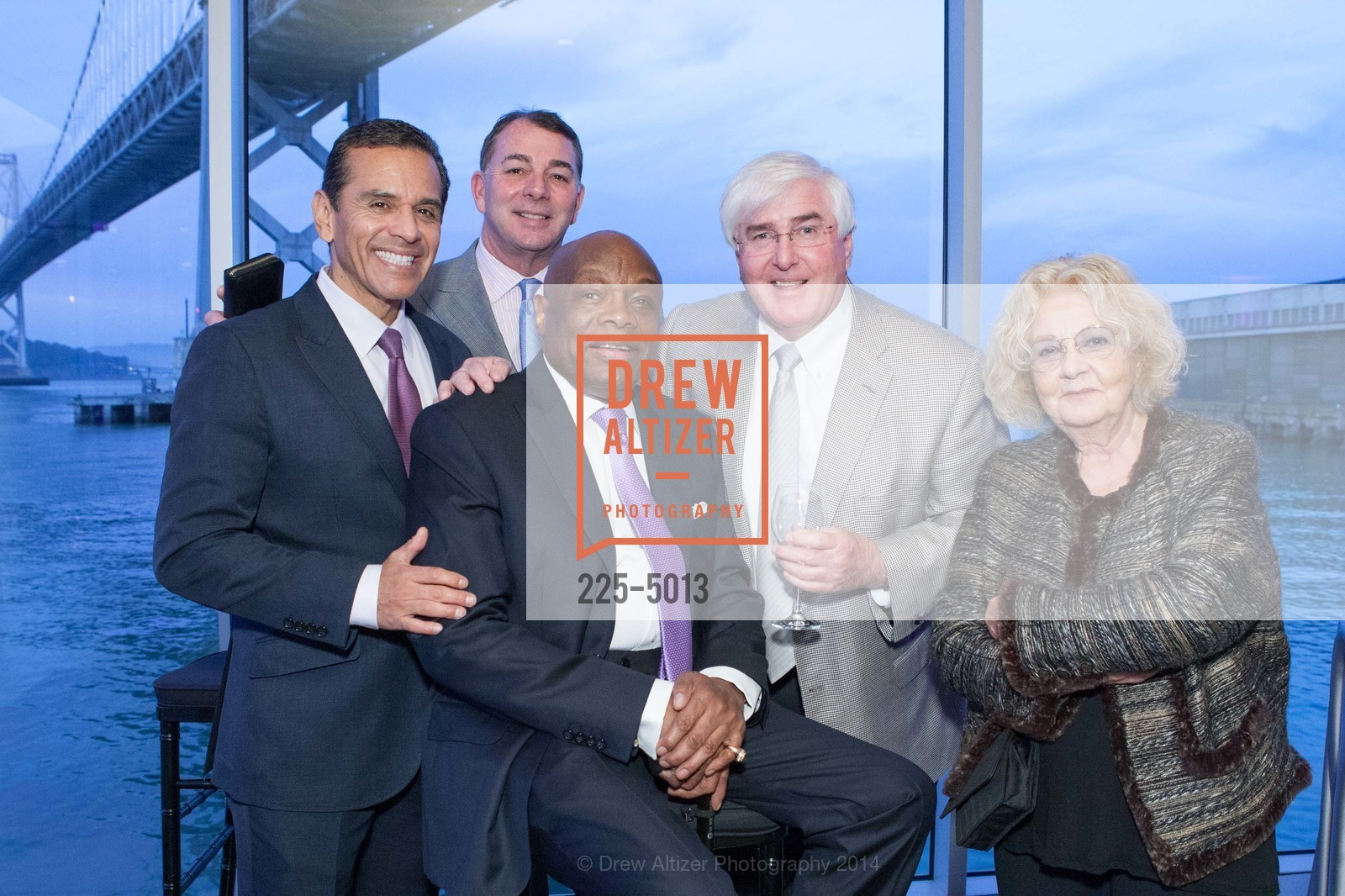 Antonio Villaraigosa, Marc Corsi, Willie Brown, Ron Conway, Jeannette Etheridge, Photo #225-5013