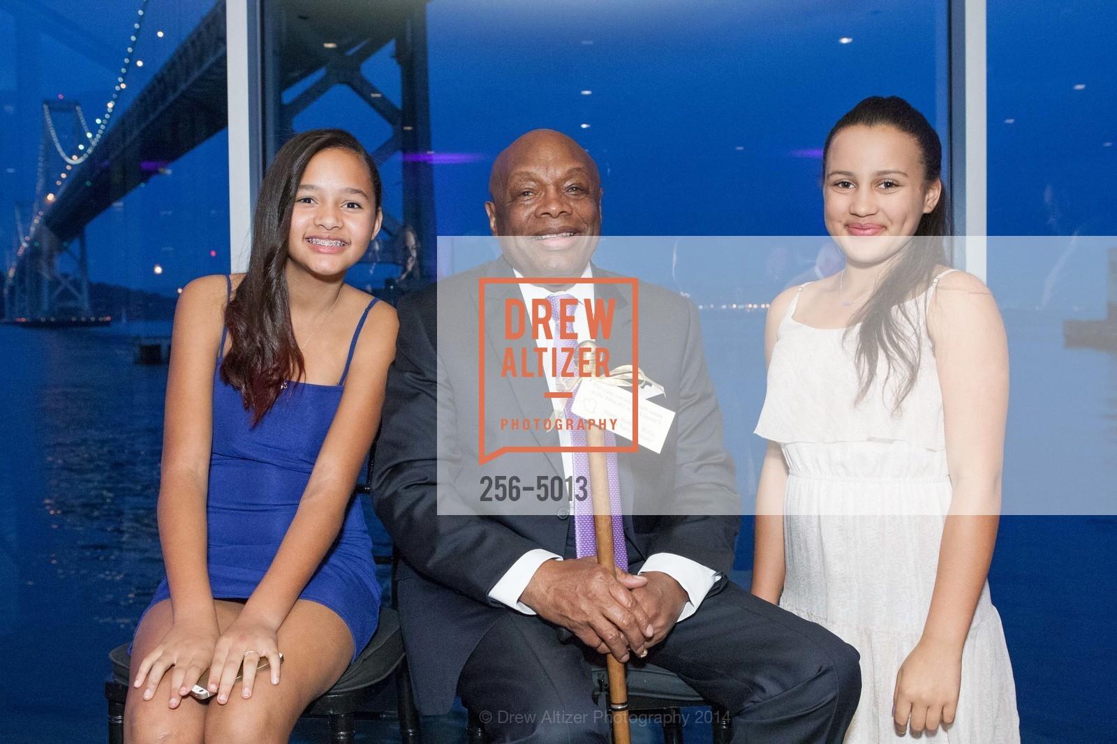Sydney Brown, Willie Brown, Juliana Davis, Photo #256-5013