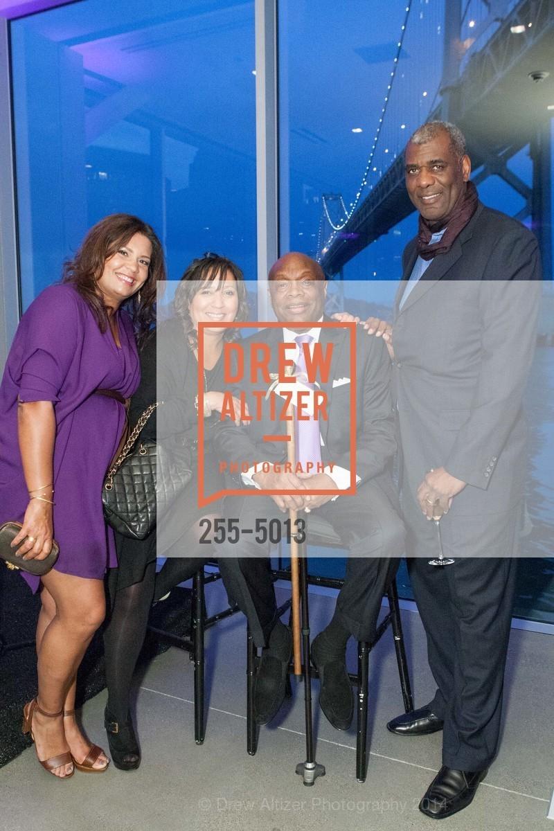 Jill Cowan Davis, Manetta White, Willie Brown, David Lawrence, Photo #255-5013