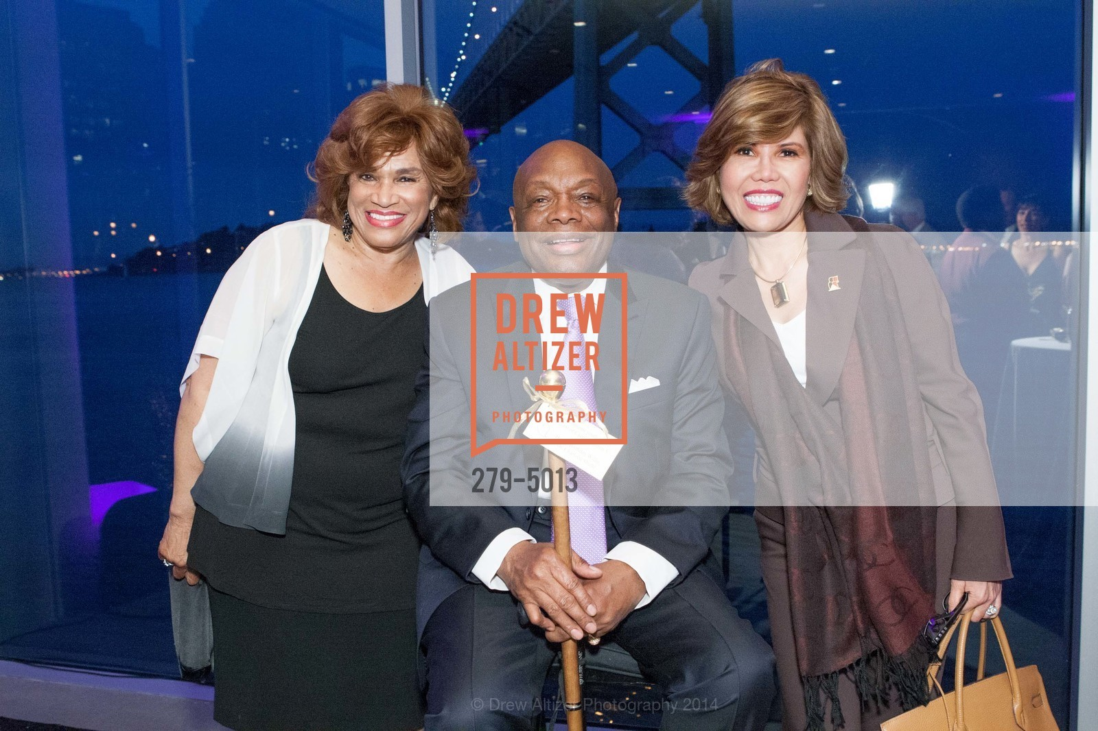 Beatrice Jackson-Henry, Willie Brown, Elsie McAteer, Photo #279-5013