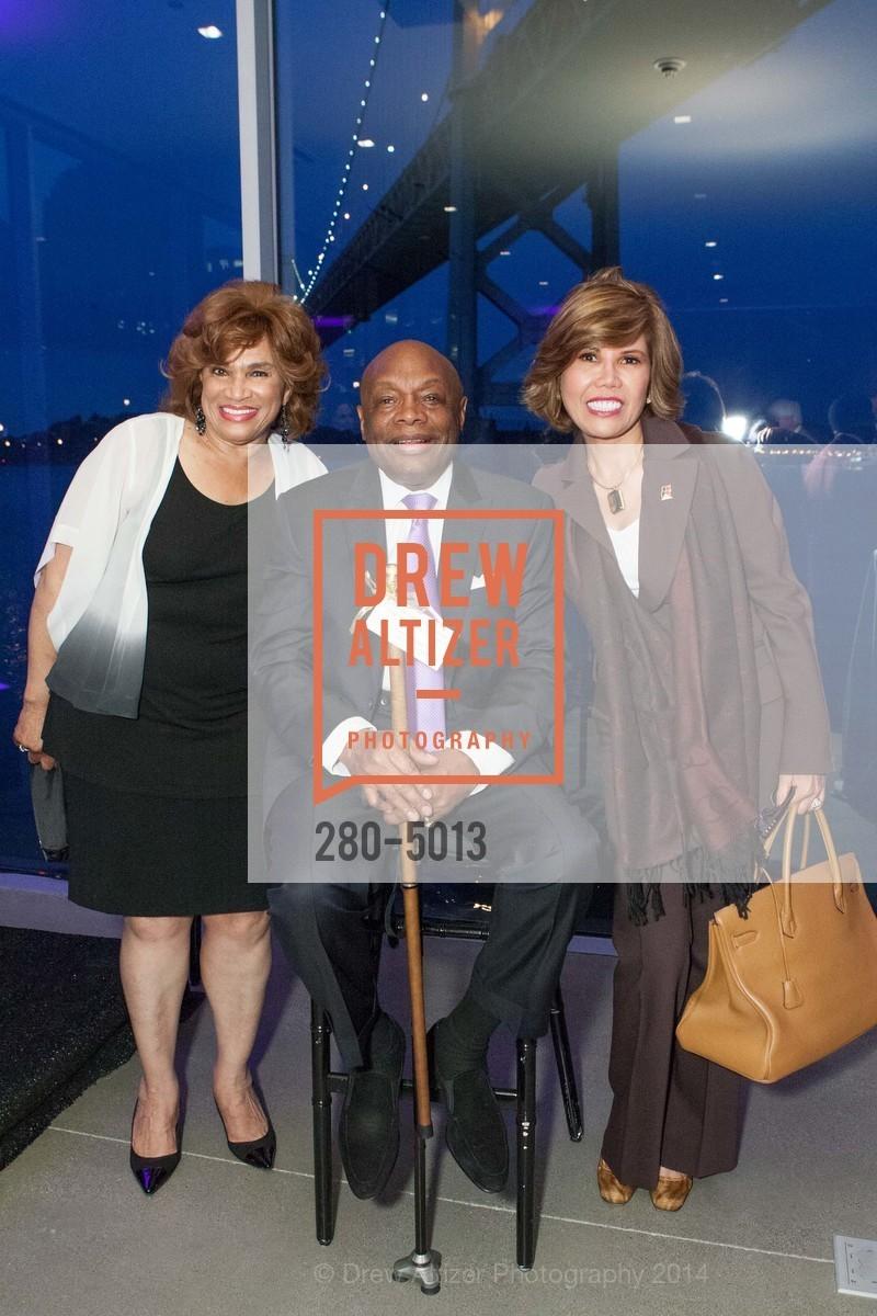 Beatrice Jackson-Henry, Willie Brown, Elsie McAteer, Photo #280-5013