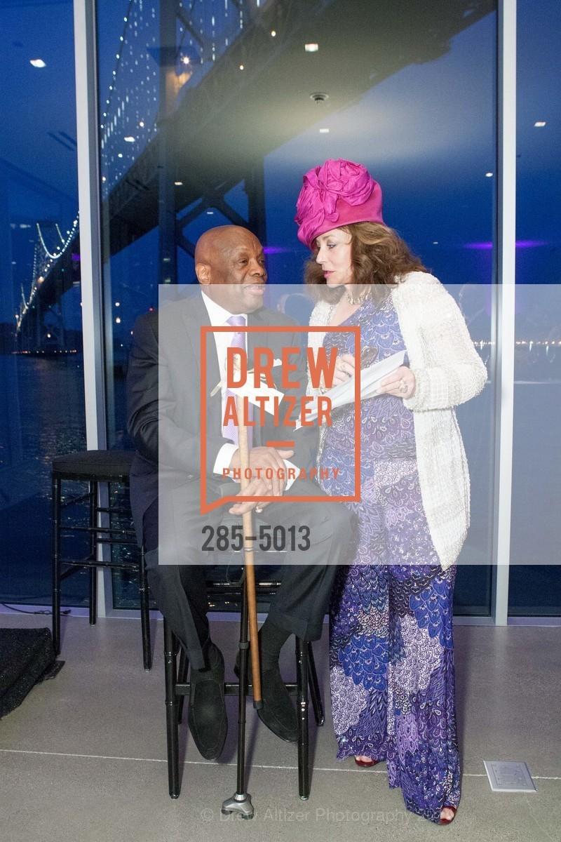 Willie Brown, Donna Huggins, Photo #285-5013